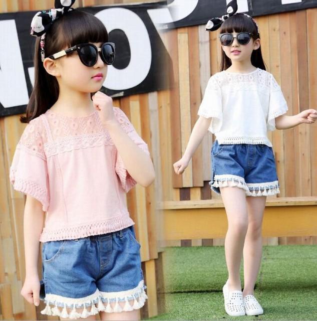 韓国子供服 春夏着 女の子 大人気 2点セット半袖...