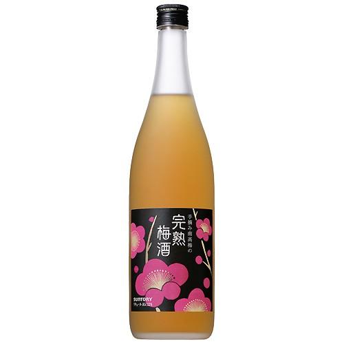 サントリー 手摘み南高梅の完熟梅酒 720ml