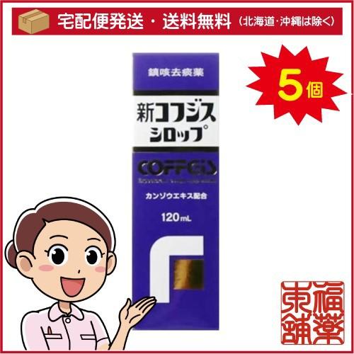 【第(2)類医薬品】新コフジス シロップ (120ML) ...