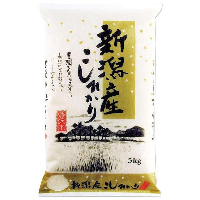 新米 新潟県産 コシヒカリ 5kg 送料無料 新潟県 ...