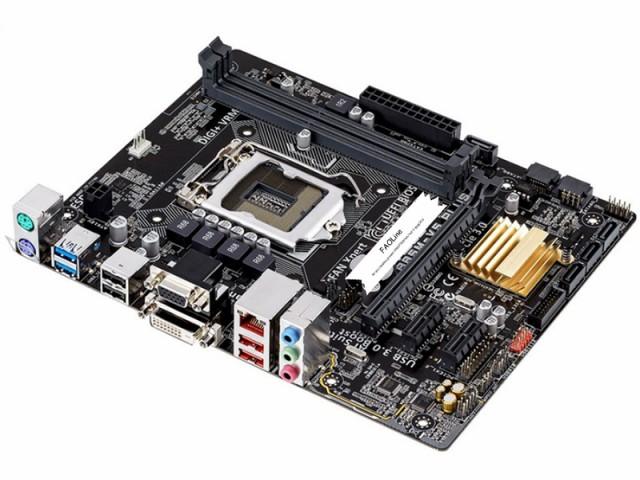 新品同様 Asus B85M-V5 PLUS LGA1150 VGA+DVI  DD...