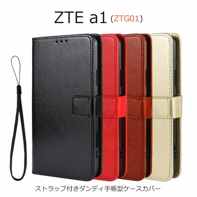 ZTE a1 ケース 手帳 ZTE a1 カバー 手帳型 ZTG01 ...