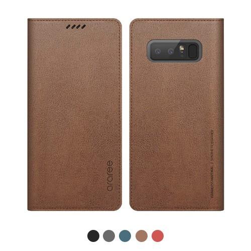 Galaxy Note9 ケース 手帳型 araree MUSTANG DIAR...