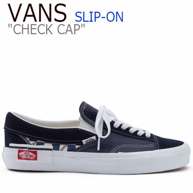 バンズ スリッポン スニーカー VANS SLIP-ON CAP ...