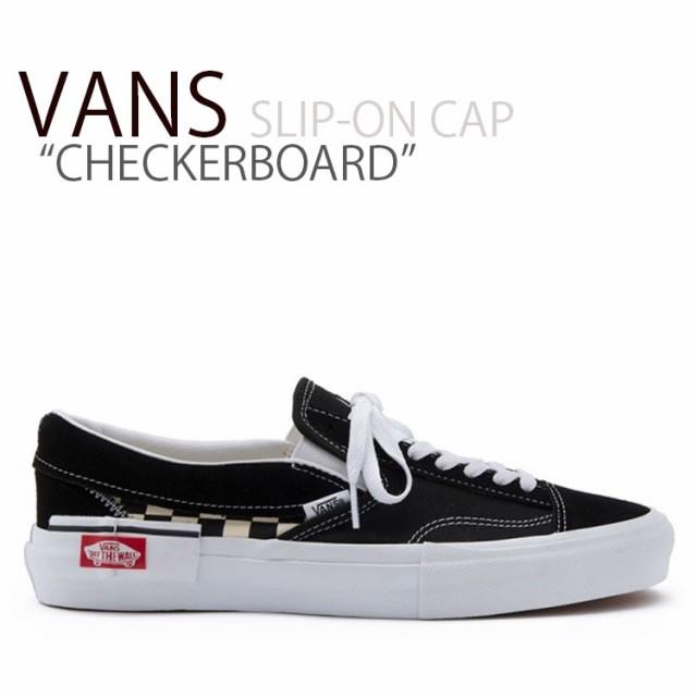 バンズ スリッポン VANS SLIP-ON CAP CHECKERBOAR...