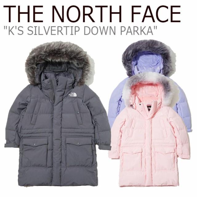 ノースフェイス ダウン THE NORTH FACE K'S SILVE...