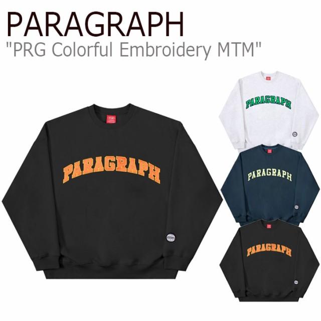 パラグラフ トレーナー PARAGRAPH PRG COLORFUL E...