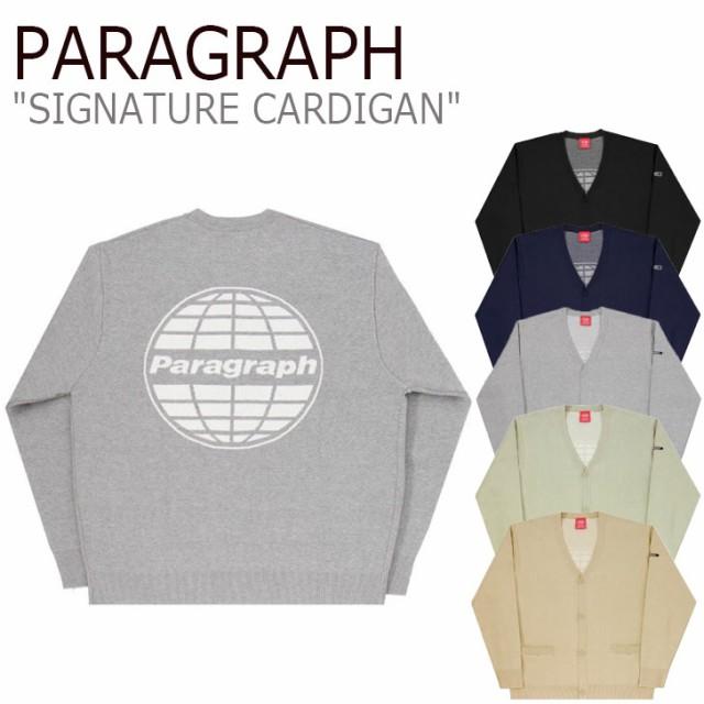 パラグラフ アウター PARAGRAPH SIGNATURE CARDIG...