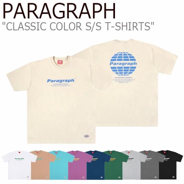パラグラフ Tシャツ PARAGRAPH CLASSIC COLOR S/S...