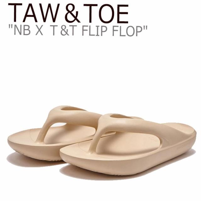 トー&トー サンダル TAW&TOE NB X T&T FLIP FLO...