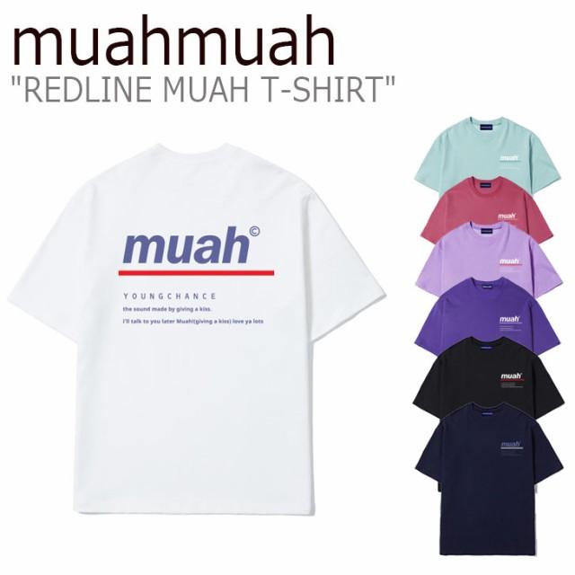 ムアムア Tシャツ muahmuah ムーアムーア REDLINE...