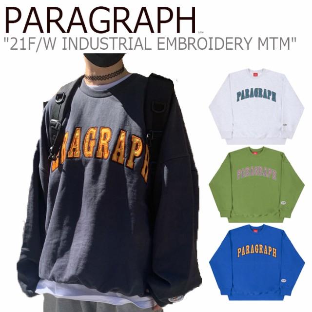 パラグラフ トレーナー PARAGRAPH INDUSTRIAL EMB...