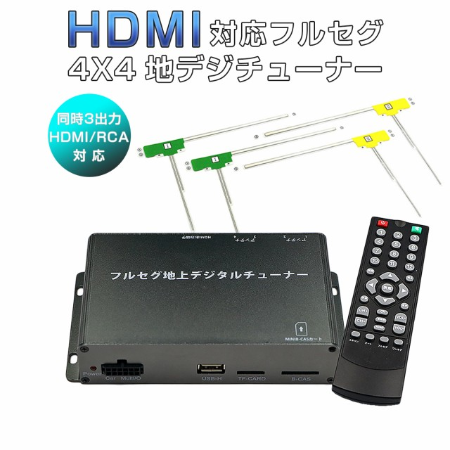高画質 地デジチューナー フルセグ ワンセグ HDMI...