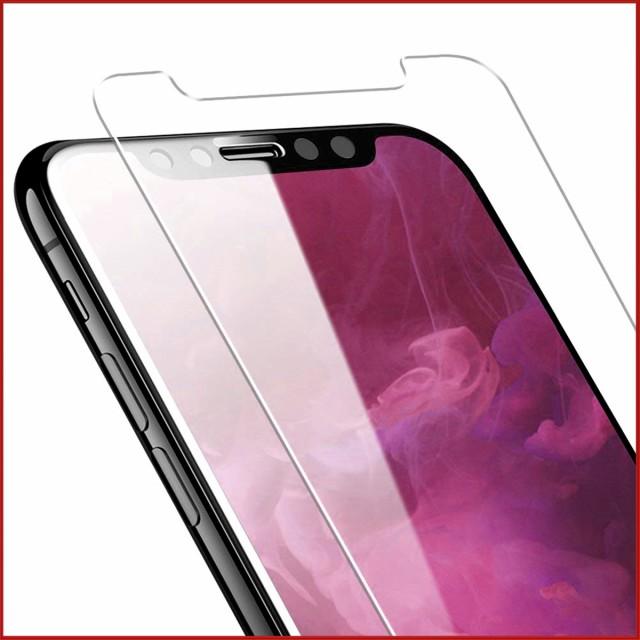 iPhone X 8 7 8Plus 7Plus ガラスフィルム 強化ガ...