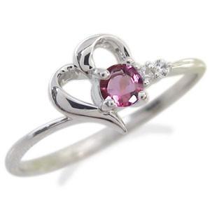 プラチナ ハート リング ファランジリング 指輪 ...