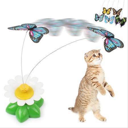 送料無料 新品 ケースに痛み有 猫のおもちゃ 蝶...
