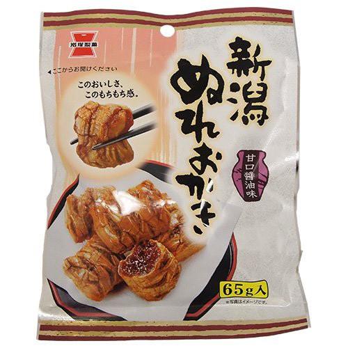 岩塚製菓 新潟ぬれおかき 65g×10入
