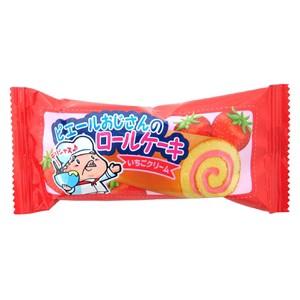 やおきん ロールケーキ イチゴクリーム味 20g×24...
