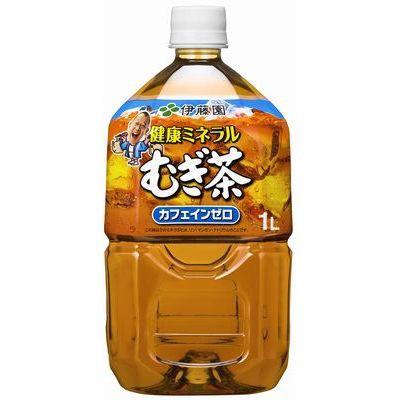 伊藤園 健康ミネラルむぎ茶 1L×12入