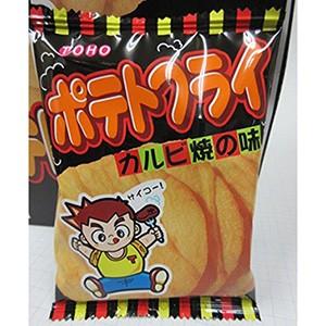 東豊製菓 ポテトフライ カルビ焼 11g×20入