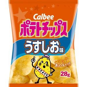 カルビー ポテトチップス うすしお味 28g×24...