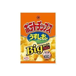 湖池屋 ポテトチップスBig うすしお味 190g×1...