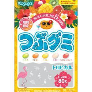 春日井製菓 つぶグミ トロピカル 80g×6入(6...
