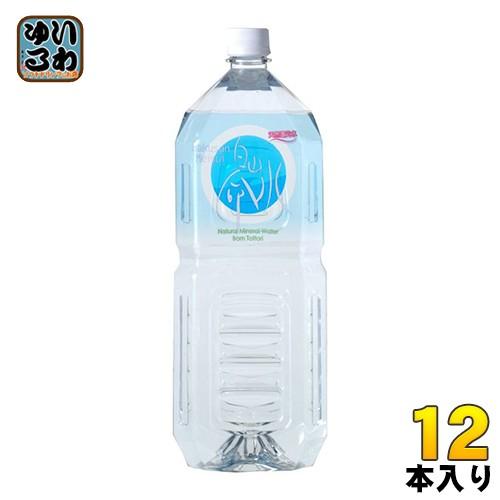 白山 白山命水 2リットルペットボトル 6本入×2 ...