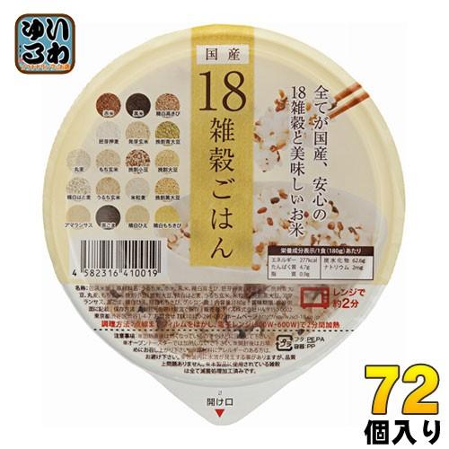 アイズ 国産18雑穀ごはん 160g 36個入×2 まとめ...