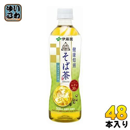 伊藤園 伝承の健康茶 そば茶 500mlペットボトル 2...