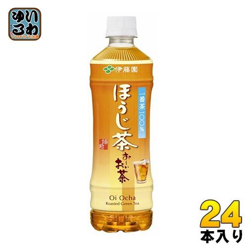 伊藤園 お〜いお茶 ほうじ茶 525mlペットボトル 2...