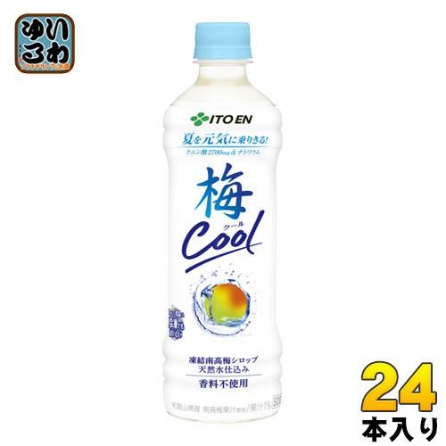 伊藤園 日本の果実 梅涼み 500mlペットボトル 24...