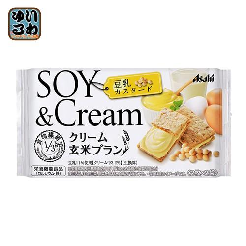 アサヒグループ食品 クリーム玄米ブラン 豆乳カス...