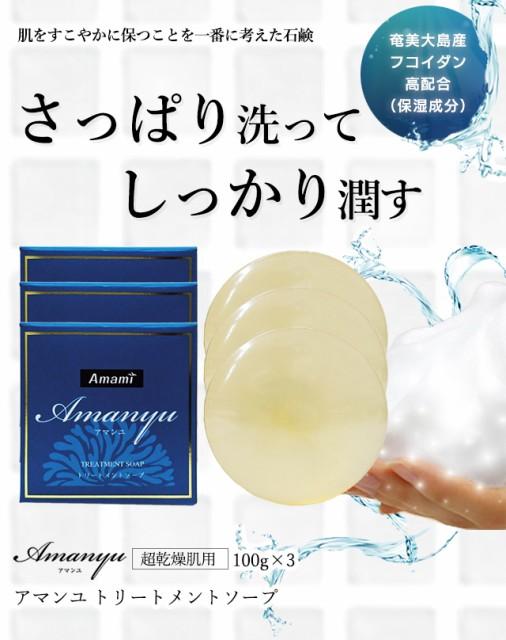 保湿成分 石鹸 アマンユ トリートメントソープ 10...