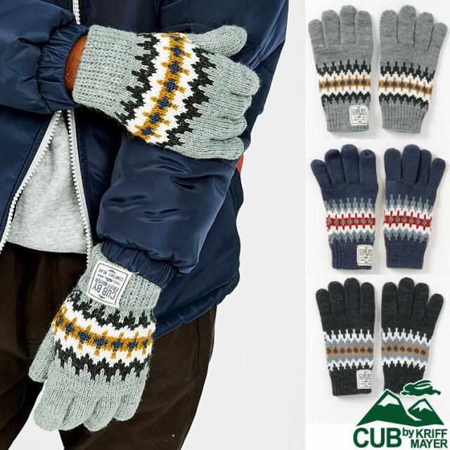 ギザギザ手袋 ニット 冬 暖か てぶくろ グローブ ...