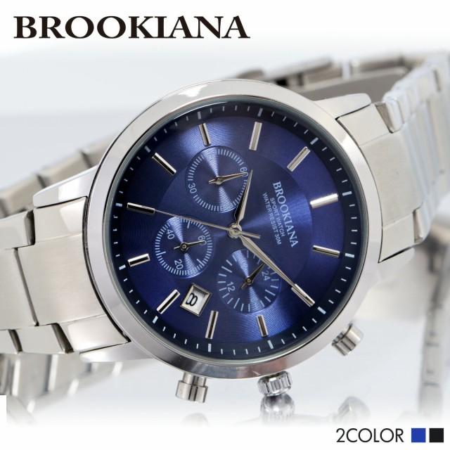 ブルッキアーナ BROOKIANA ba0029 クロノグラフ ...