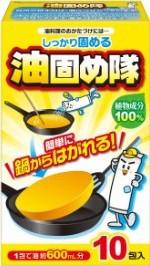 コットン・ラボ 大三 油固め隊 10包入【廃油処理...