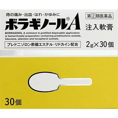 武田薬品 ボラギノールA注入軟膏 2g×30個 【痔疾...