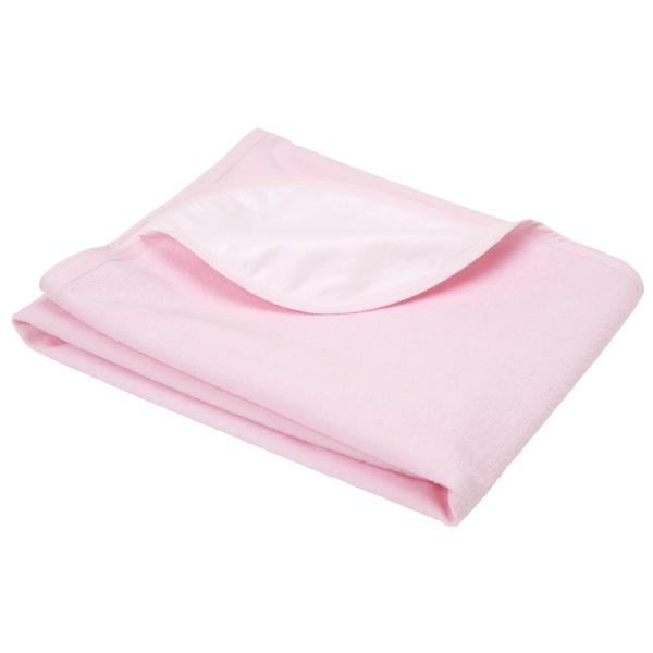 防水シーツ 綿パイル ライトピンク