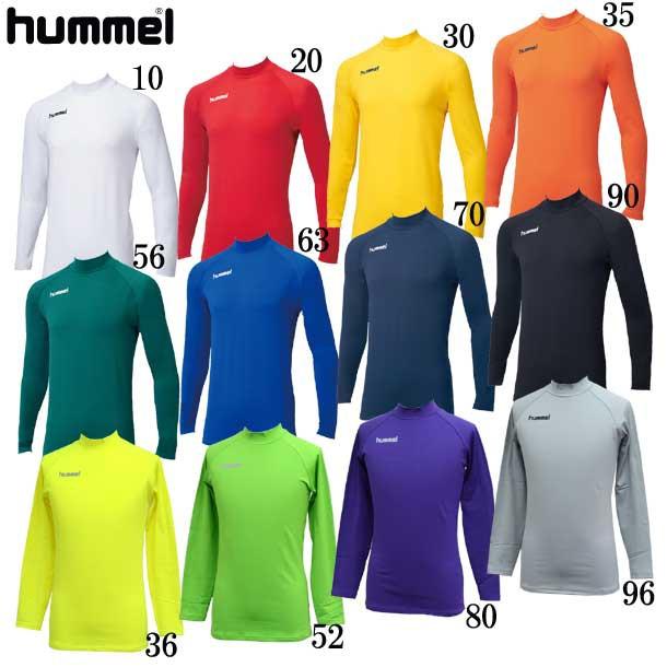 あったかインナーシャツ【hummel】ヒュンメルアン...