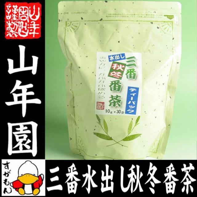 水出し 番茶 水出し 緑茶 国産 10g×30パック 送...