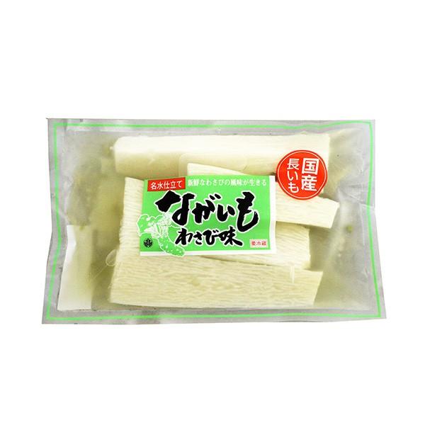 【クール商品】ながいも浅漬 わさび味230g(信州...