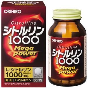 オリヒロ シトルリン Mega Power 1000 240粒