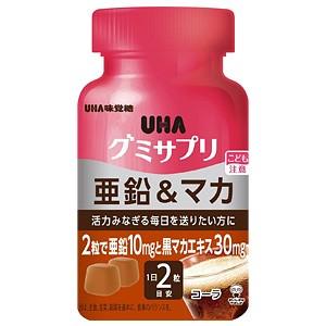 UHA味覚糖 グミサプリ 亜鉛&マカ ボトルタイプ 30...