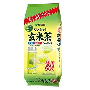 伊藤園 ワンポット抹茶入り玄米茶 ティーバッグ 5...