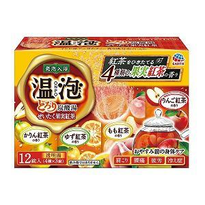 温泡 ONPO とろり炭酸湯 ぜいたく果実紅茶 45g×1...
