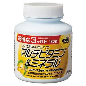オリヒロ MOSTチュアブル マルチビタミン&ミネラ...