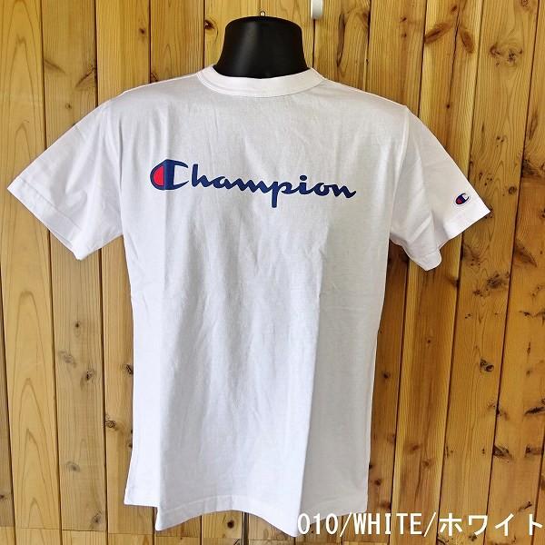 チャンピオン ベーシック ロゴプリントTシャツ 半...
