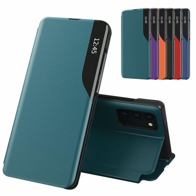 Samsung Galaxy A32 5G SCG08 ケース 手帳型 シン...