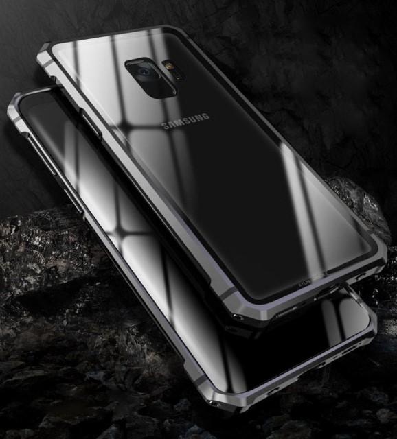 Samsung Galaxy S9 アルミ バンパー ケース カバ...